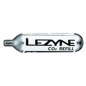 Lezyne 25G Threaded CO2 Cartridge 5 Stück silber